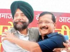 bashtag kejriwal: could twitter be the saving grace for punjab's badals?