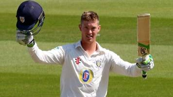 Keaton Jennings: Durham opener proud of Cricket Writers' player of the year award