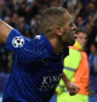 slimani scores again as leicester beat porto
