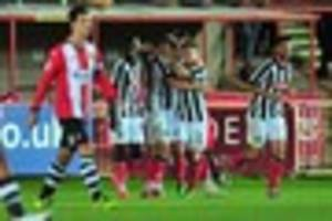exeter city 0 notts county 2: match report - loss confirms...