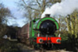 Santa trains you can take the kids on within a one-hour drive of...