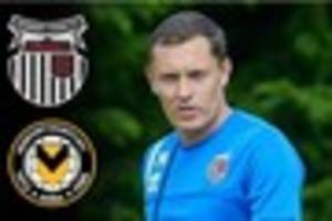 paul hurst expecting strugglers newport county  to prove tough...