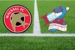 live:  walsall v scunthorpe united