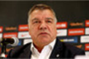 reports that sam allardyce could be sacked as england manager...