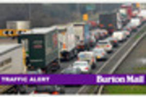 Traffic, travel and weather across Burton and South Derbyshire