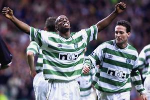 celtic v rangers fixture is vile blasts former arsenal and hoops striker ian wright