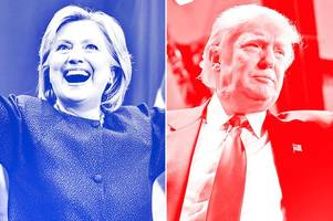 us election 2016 poll tracker: is donald trump or hillary clinton winning the race to be president?