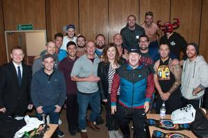 'Whit a night that was in EK': Still Game's Isa mobbed by wrestlers at East Kilbride show