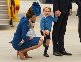 kate middleton: queen may rap her for parenting and public behavioral 'error' in bending to talk to george