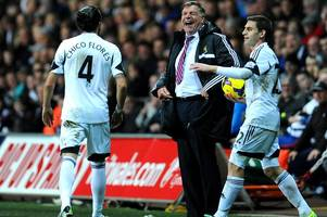 Former Swansea City fans' favourite Chico Flores taunts Sam Allardyce over his England controversy