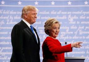 who won the trump-clinton presidential debate?