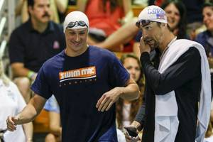 phelps to lochte before scrape: 'keep your head on straight'
