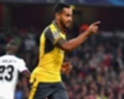 arsenal 2-0 basel: walcott at the double as gunners cruise