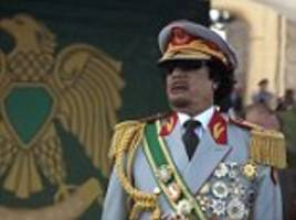 Crazed Libyan leader Colonel Gaddafi gave £25,000 to Welsh Nationalists