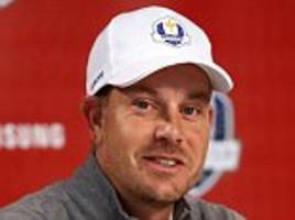 henrik stenson puts himself forward to play all five sessions at ryder cup