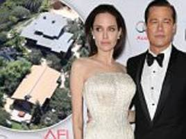 Brad Pitt and Angelina Jolie stayed in 'their own wings' at Hollywood Hills estate before split