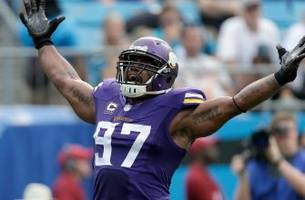vikings' griffen named nfc defensive player of the week