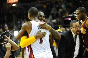 LeBron James says he's 'surprised' Miami Heat gave up on Chris Bosh