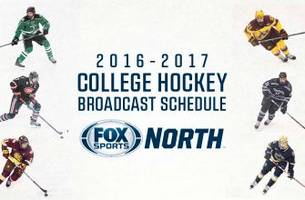 fox sports north announces 2016-17 college hockey tv package