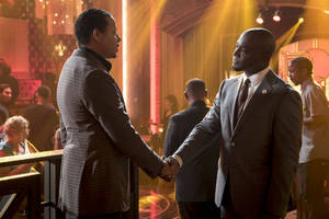 'empire' star taye diggs teases his relationship with cookie: 'be worried for lucious'