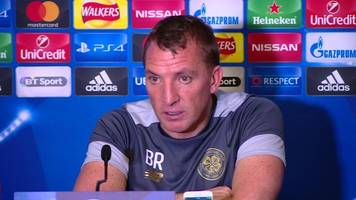 a noise i've never heard before - celtic's rodgers after draw with man city