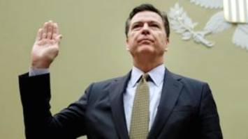 live feed:  fbi director comey takes stand again to answer for handing out immunity agreements like candy