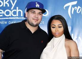 rob kardashian and blac chyna aren't speaking, but not breaking up