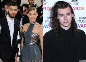 Did Gigi Hadid Throw Shade at Harry Styles With This Photo of Zayn Malik?