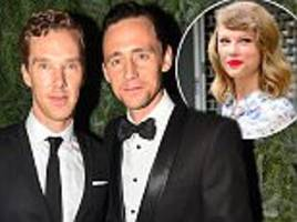 Tom Hiddleston and Benedict Cumberbatch discuss Taylor Swift