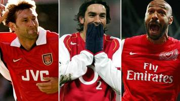 Adams? Pires? Henry? Pick Wenger's greatest Arsenal XI