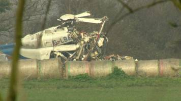 norfolk helicopter crash data to be kept confidential