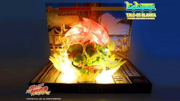 Blanka is the latest and best limited edition Street Fighter diorama