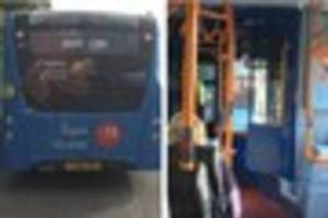 Broken down bus passengers stranded on A38 for more than two...