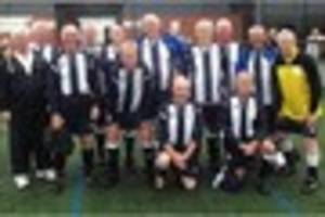 grimsby ancient mariners host walking football festival