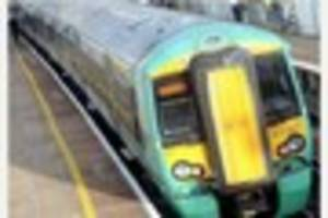 train chaos between east croydon and east grinstead as freight...