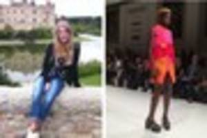 the former holy trinity pupil who has taken london fashion week...