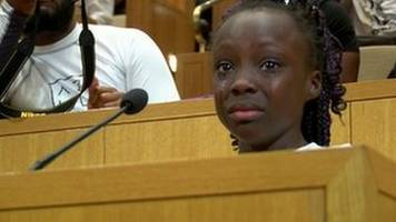 how young zianna oliphant spoke for black rights in charlotte