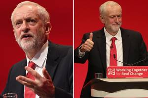 Jeremy Corbyn urges party to unite behind him to fight the Tories in passionate conference speech