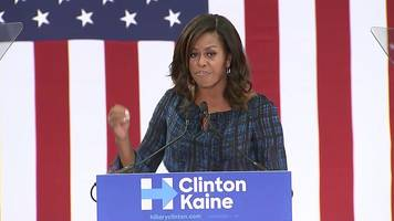 michelle obama: 'we need an adult in white house'