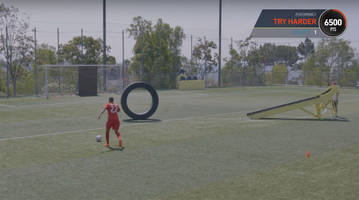 Watch: MLS players try real life FIFA skills challenges