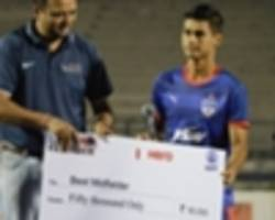 AFC Cup: Eugeneson Lyngdoh thanks team-mates after scoring crucial away goal