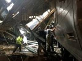 New Jersey commuter train crashes into Hoboken station killing up to 3 with over 100 injured