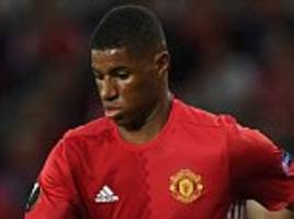 Manchester United toil to victory but Marcus Rashford shows the flashes of magic that will earn him England recall