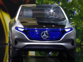 mercedes just unveiled its electric concept suv to take on tesla