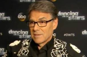Rick Perry Eliminated From Dancing With the Stars