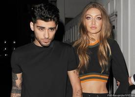 Zayn and Gigi Hadid Get Lovey-Dovey in This Pic as His Mom Asks Him to Dump Her