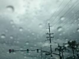 breaking: first rain of season will make roads slick, nws officials say