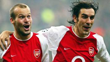 ten players, 10 goals - wenger's greatest arsenal signings?