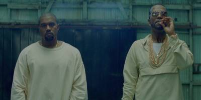 """Watch Kanye West and Juicy J's New """"Ballin"""" Video"""