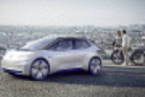 VW I.D. concept to spawn 300-plus-mile electric hatch in 2020